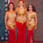 Andalee with Seher and Milagros of Khahari Belly Dance Collaborative - 2011