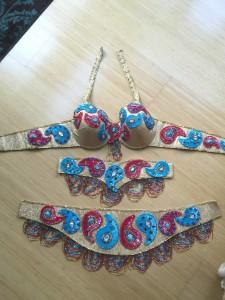 Handmade Pharaonic Paisley costume