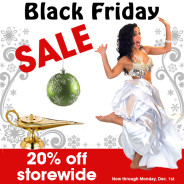 Black Friday and Holiday Shopping for Belly Dancers