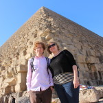 Hubby and I at the pyramids