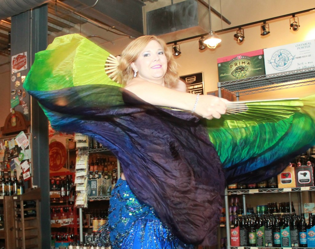 Belly dance at Beer Durham